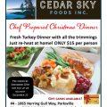 Cedar Sky Christmas Dinner WP