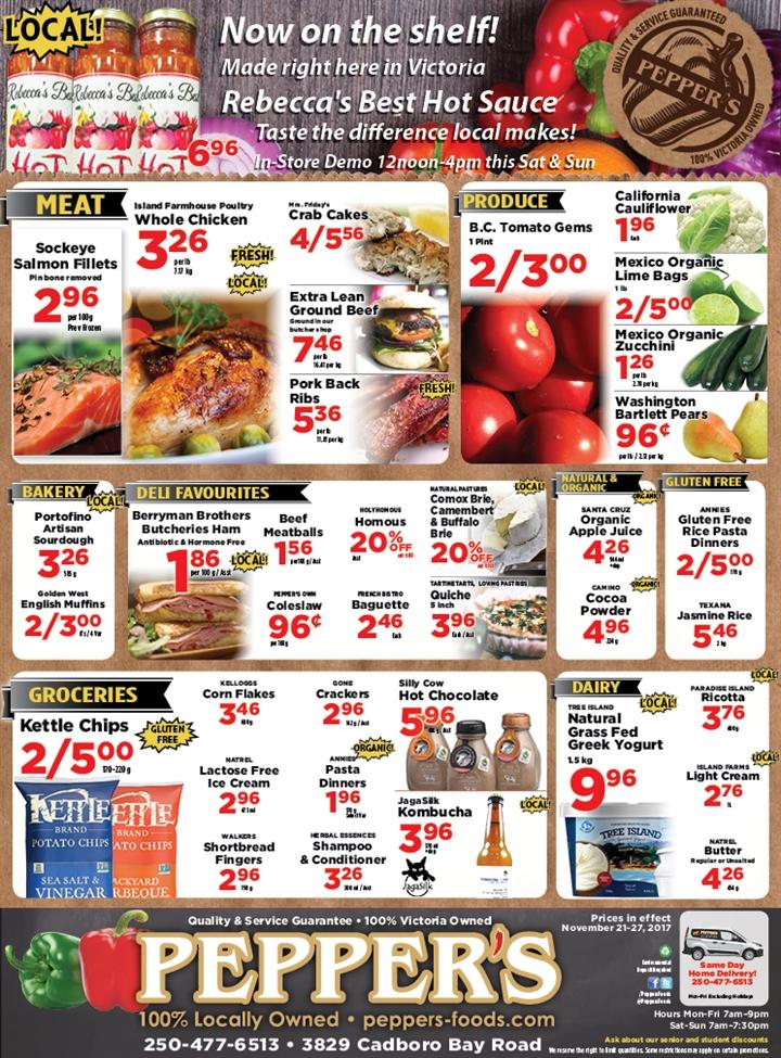 Pepper's Foods Flyer