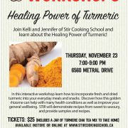 Pomme Natural Healing Power of Turmeric Workshop