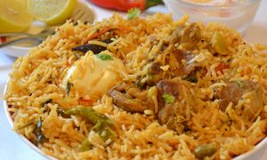 Royal Spice lamb-biryani