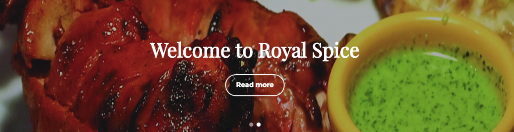 Welcome to Royal Spice Victoria