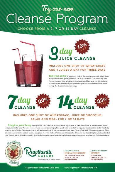 rawthentic cleanse packages