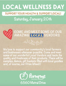 Local Wellness Day @ Pomme Natural Market Nanaimo | Nanaimo | British Columbia | Canada