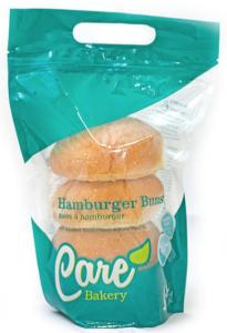 care bakery hamburger buns