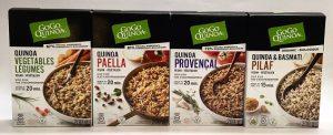 gogo quinoa sides