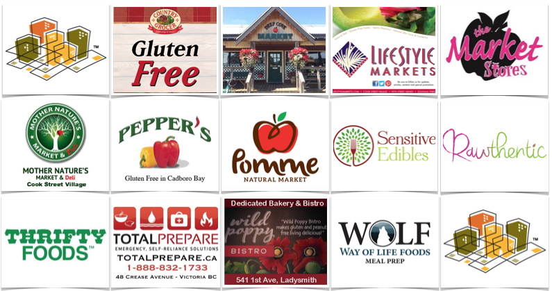 Celiac Scene Gluten-Free Retailers March 2018