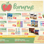 Pomme April 2018 Gluten-Free Flyer