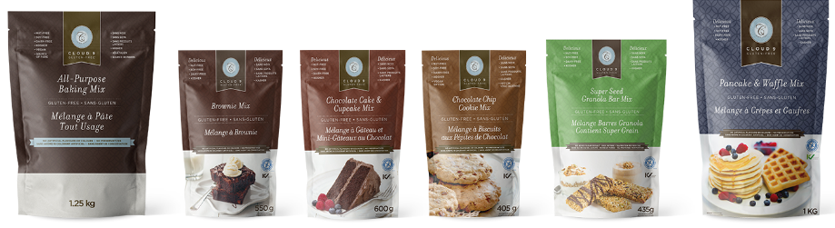 Cloud 9 Specialty Foods Baking Mixes