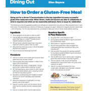 Dining Out Canadian Celiac Association May 2018 wp