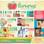 Pomme July 2018 Gluten-Free Flyer