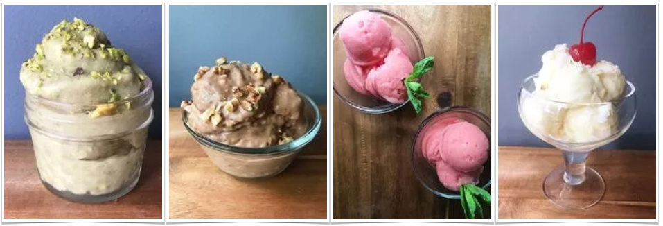 Easy-Peasy 'Nice Cream' Recipes fb