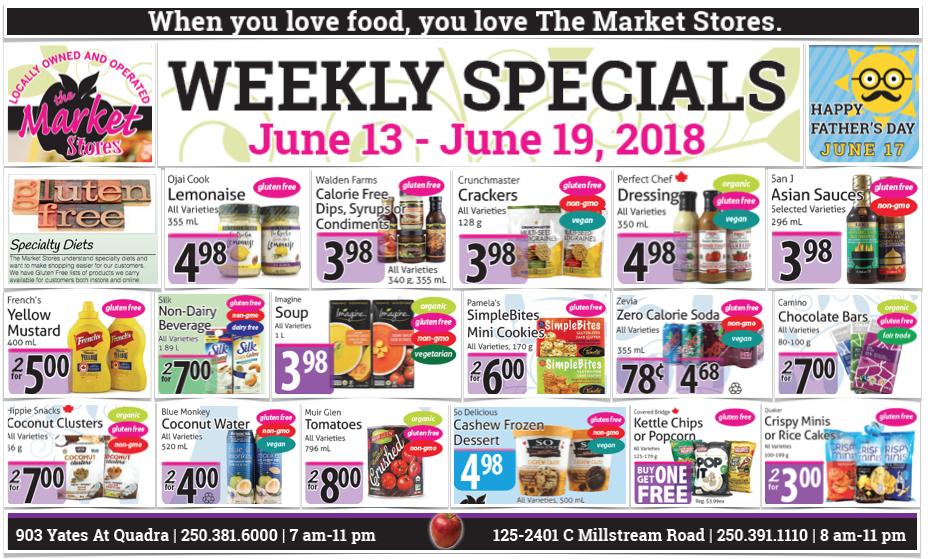 Market Stores Gluten-Free Flyer
