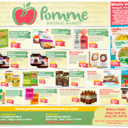 Pomme Natural Market Gluten-Free Flyer August 2018