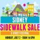 Sidney Sidewalk Sale & Street Festival