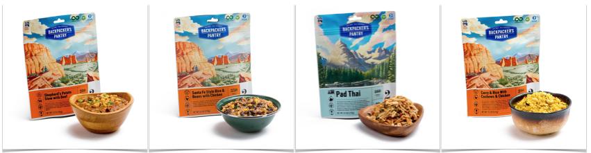 Total Prepare Brings in Gluten-Free Backpacker's Pantry