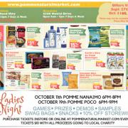 Pomme Natural Market October 2018 Flyer