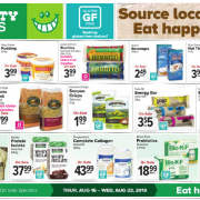 Thrifty Foods Gluten-Free Flyer