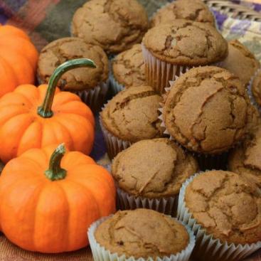 Pumpkin Giner Muffins