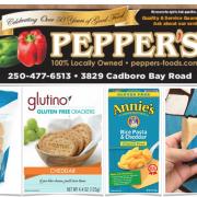 Pepper's Foods Gluten Free Flyer