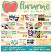 Pomme Natural Markets December Gluten-Free Flyer