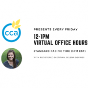 Selena De Vries, CCA Virtual Hours wp