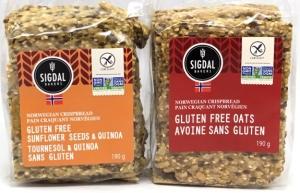 Sigdal Gluten-Free Crispbreads