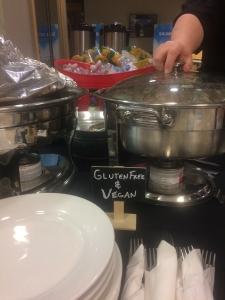 gluten free options BCSLS