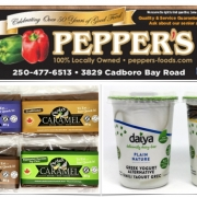 Pepper's Food Gluten-Free Flyer copy