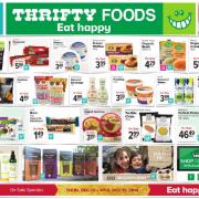 Thrifty Foods Gluten-Free Flyer.