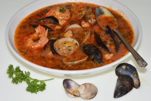 Italian Fish and Shellfish Soup