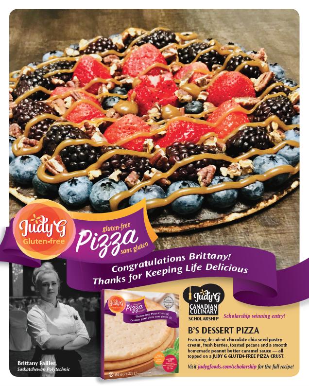 Judy G Pizza Scholarship Winner orig
