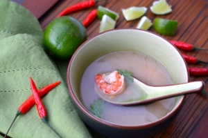 Thai Spicy Shrimp Soup