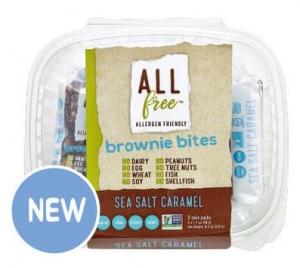 O'Dough's Sea Salt Caramel Brownie Bites