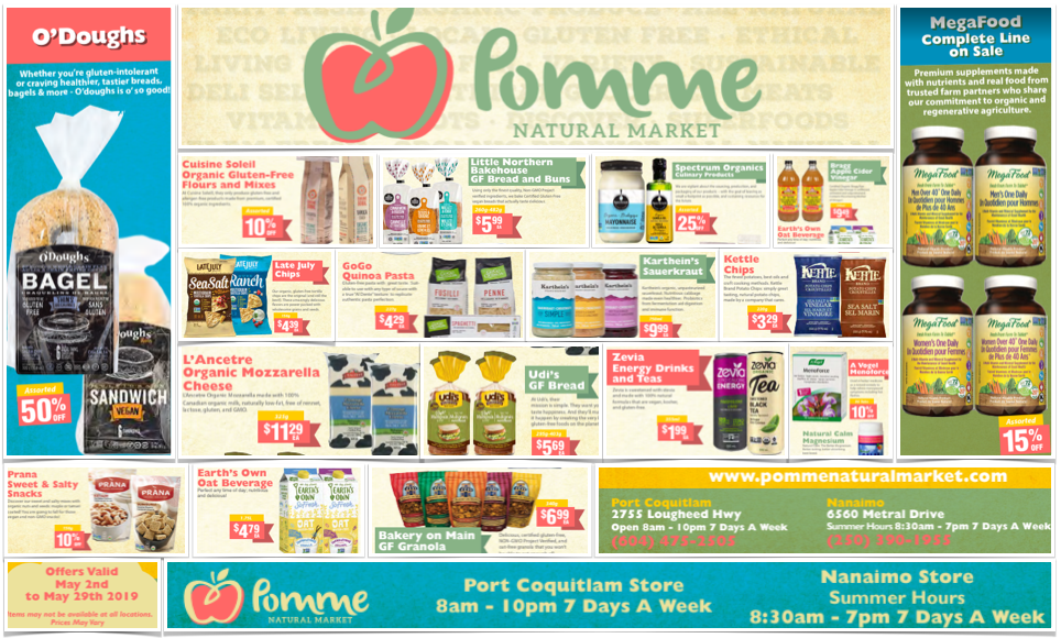 Pomme Natural Market May 2019 GF Flyer