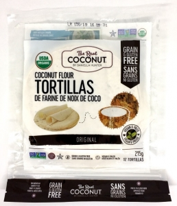The Real Coconut Tortilla