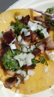 Taco Rev Pork Belly Tacos