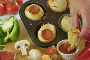 Everyday Gluten Free Gourmet Pizza Cheese Buns 2
