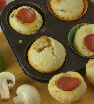 Everyday Gluten Free Gourmet Pizza Cheese Buns