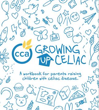 canadian celiac association growing up celiac workbook