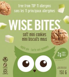 Wise Bites Apple Pie Soft Mini Cookies