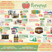 Pomme Natural Markets October 2019 Flyer
