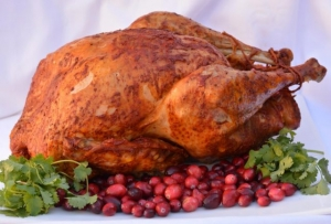Achiote Butter Basted Turkey
