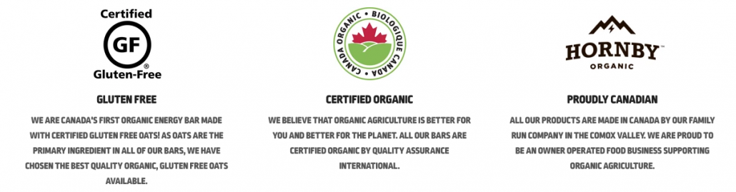 Hornby Organic Certified