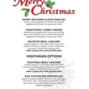 Union Street Grill Christmas Menu wp