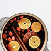 Wild Poppy Mulled Wine