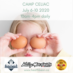 Celiac Kids Camp Registration Orig
