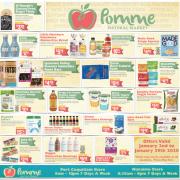 Pomme Gluten-Free Flyer