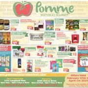 Pomme Natural Market Flyer March 2020