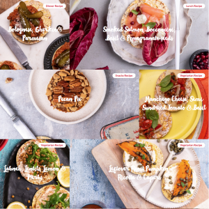 Corn Thins March 2020 Recipes IG