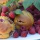 cornmeal raspberry muf